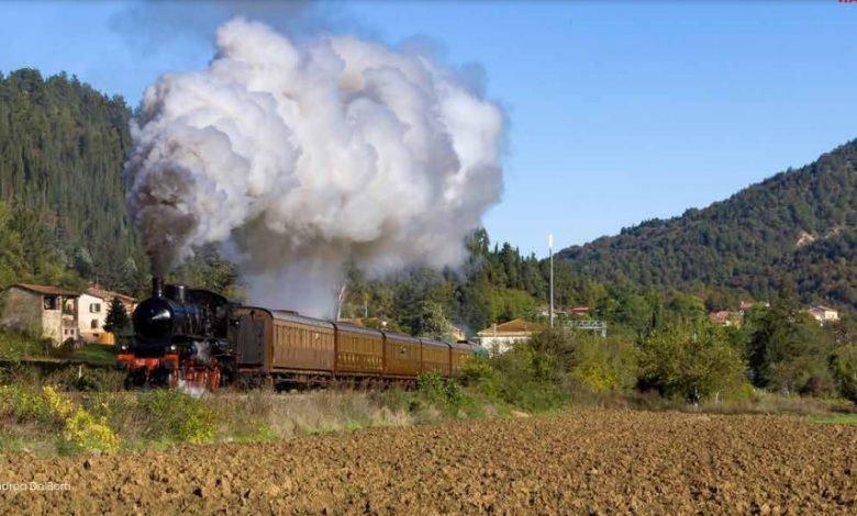 Treno della Sagra delle Castagne di Marradi andrea de berti