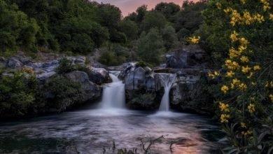 Hai già visitato la Meravigliosa Cascata nelle Gole dell'Alcantara in Sicilia antonio treccarichi