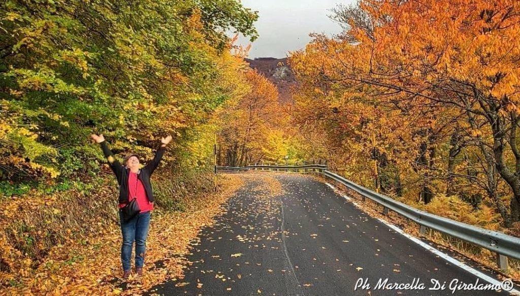 I Turisti raccontano. Sulla Maiella, anche Passo San Leonardo si tinge di un Romantico Autunno. Guarda tutte le foto