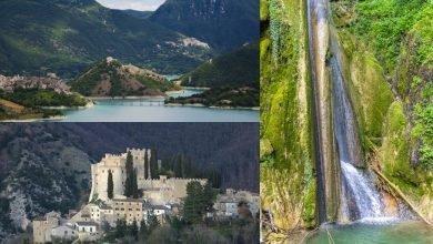 Itinerario in Lazio. La Magia di una possente Rocca, la Bellezza di un Lago e il fragore di una Cascata