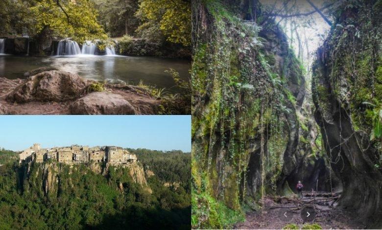"""Itinerario in Lazio. Una """"famosa"""" Cascata, un Borgo Arroccato e il Fosso del Peccato. Scopri tutti i dettagli"""
